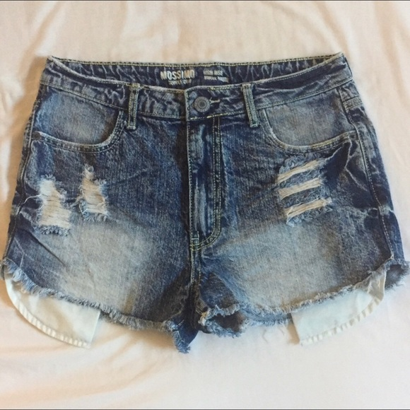 Mossimo Supply Co. Pants - 🎉HP 🎉 MOSSIMO distressed high waisted short